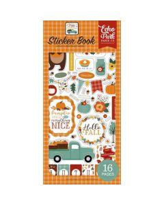 Happy Fall Sticker Book - Echo Park