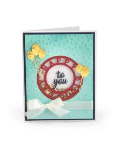Sizzix Impresslits Embossing Folder Happy Birthday
