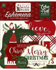 Here Comes Santa Claus Ephemera - Echo Park