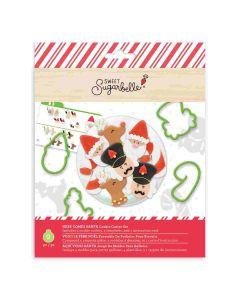 Here Comes Santa Cookie Cutters - Sweet SugarBelle