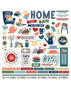 Heart & Home Element Stickers - PhotoPlay