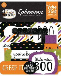 Halloween Magic Ephemera - Echo Park