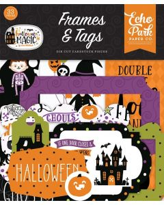 Halloween Magic Frames & Tags - Echo Park