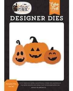 Pumpkin Trio Dies - Halloween Magic - Echo Park