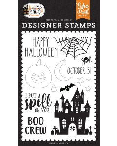 Spell On You Stamps - Halloween Magic - Echo Park