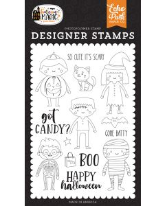 Got Candy Stamps - Halloween Magic - Echo Park