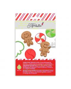 Sweet Sugarbelle Christmas cookie cutter and stamp set Holiday treats