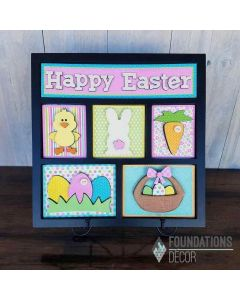 Foundations Decor Easter Shadow Box