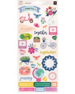 Horizon Cardstock Stickers