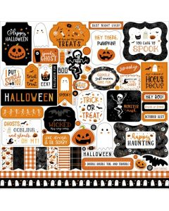 Halloween Party Element Stickers - Echo Park