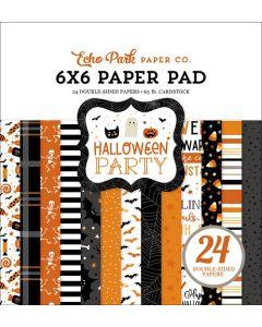 "Halloween Party 6"" x 6"" Paper Pad - Echo Park"