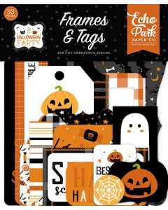 Halloween Party Frames & Tags - Echo Park