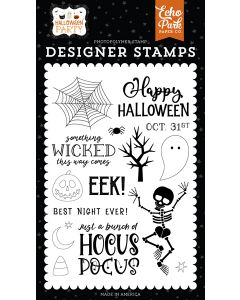 Something Wicked Stamps - Halloween Party - Echo Park