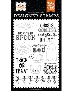 Just Say Boo Stamps - Halloween Party - Echo Park