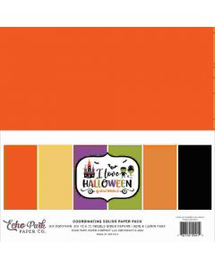 I Love Halloween Solids Kit - Echo Park