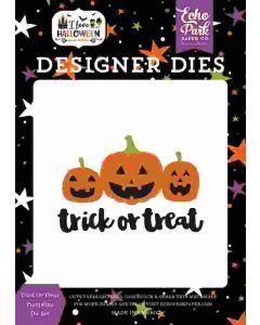 Trick or Treat Pumpkins Dies - I Love Halloween - Echo Park