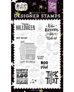 Boo to You Stamps - I Love Halloween - Echo Park