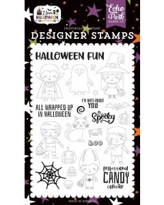 Too Cute To Spook Stamps - I Love Halloween - Echo Park