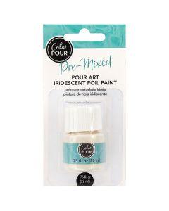 Color Pour Iridescent Foil Paint