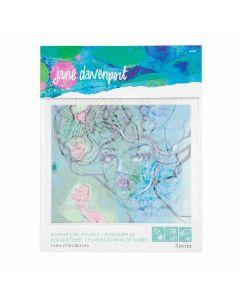 Jane Davenport Flower Girl stencils