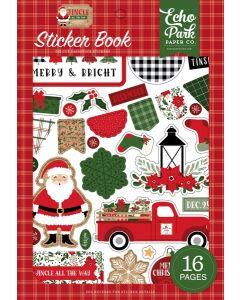 Jingle All The Way Sticker Book - Echo Park