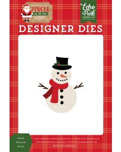 Festive Snowman Dies - Jingle All The Way - Echo Park