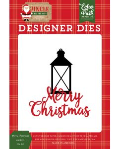 Merry Christmas Lantern Dies - Jingle All The Way - Echo Park