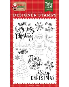 Holly Jolly Christmas Stamps - Jingle All The Way - Echo Park