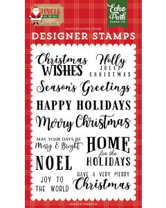 Christmas Wishes Stamps - Jingle All The Way - Echo Park