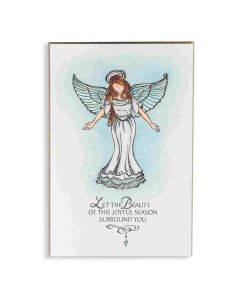 Spellbinders Joyful Season Angel Stamp Project