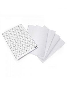 Sizzix 6 x 8.5 adhesive grid sheets
