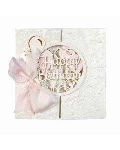 Layered Happy Birthday project idea