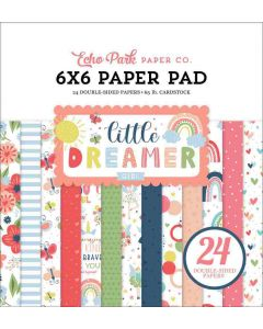 "Little Dreamer Girl 6"" x 6"" Paper Pad - Echo Park*"