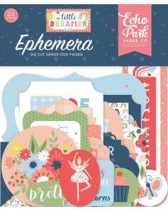 Little Dreamer Girl Ephemera - Echo Park*