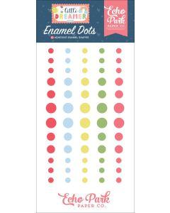 Little Dreamer Girl Enamel Dots - Echo Park*