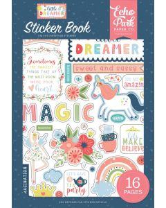 Little Dreamer Girl Sticker Book - Echo Park*