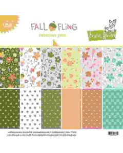 """Fall Fling 12"""" x 12"""" Collection Pack - Lawn Fawn"""