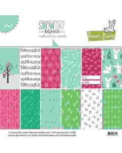 """Snow Day Remix 12"""" x 12"""" Collection Pack - Lawn Fawn"""