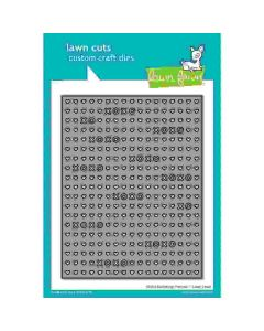 XOXO Portrait Backdrop Lawn Cuts Die - Lawn Fawn