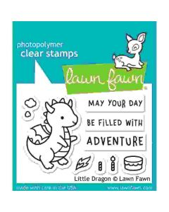 Little Dragon Stamps - Lawn Fawn