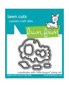 Little Dragon Lawn Cuts Dies - Lawn Fawn