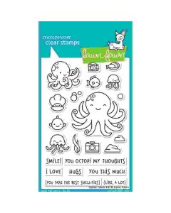 Ocean Shell-Fie Stamps - Lawn Fawn