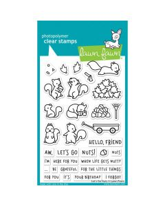 Let's Go Nuts Stamps - Lawn Fawn