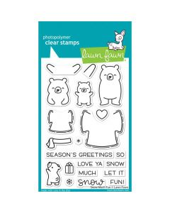 Snow Much Fun Stamps - Lawn Fawn