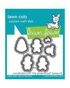 Tiny Gingerbread Lawn Cuts Dies - Lawn Fawn