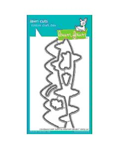 Over The Mountain Borders Lawn Cuts Dies - Lawn Fawn