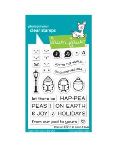 Peas On Earth Stamps - Lawn Fawn