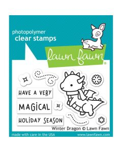 Winter Dragon Stamps - Lawn Fawn