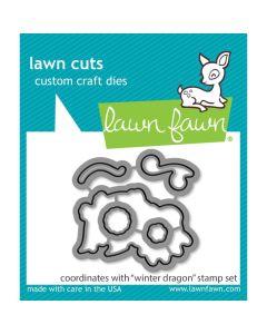 Winter Dragon Lawn Cuts Dies - Lawn Fawn