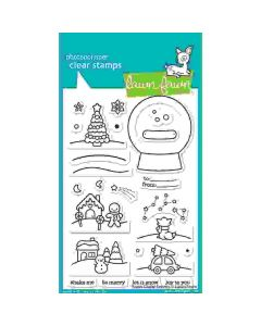 Snow Globe Scenes Stamps - Lawn Fawn